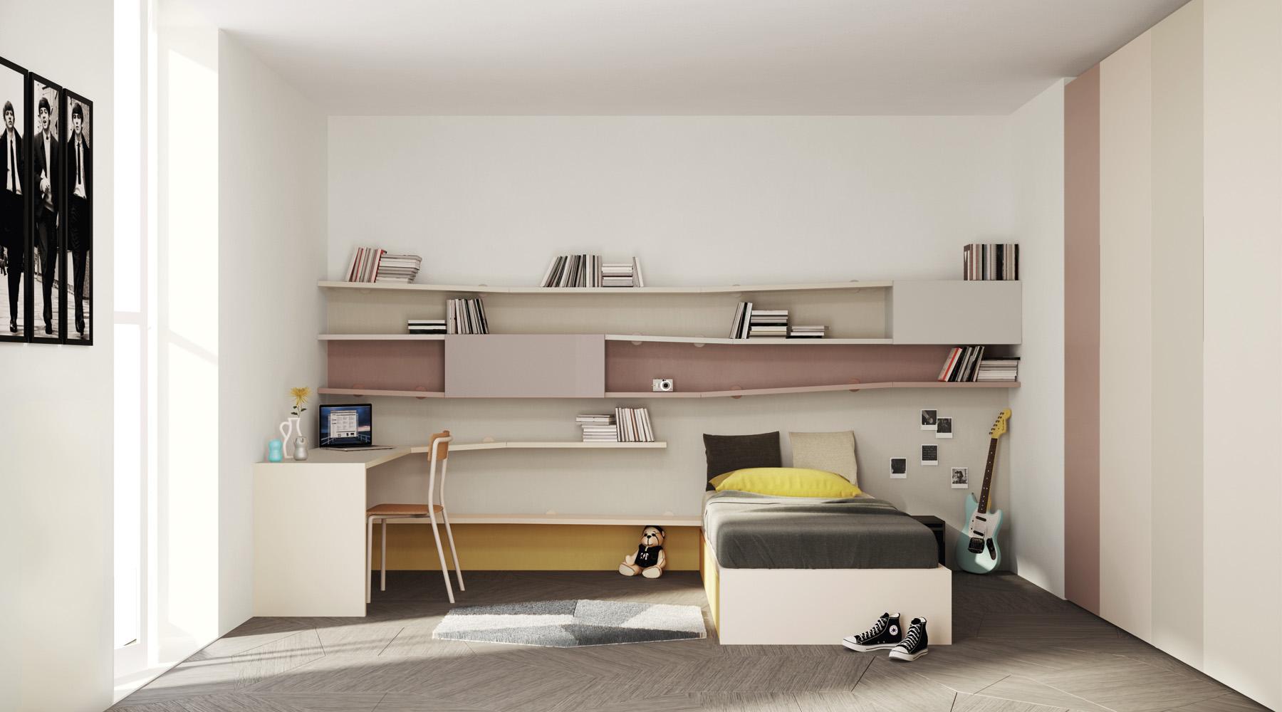 Delfanti arredamenti libreria diagolinea for Design di mobili
