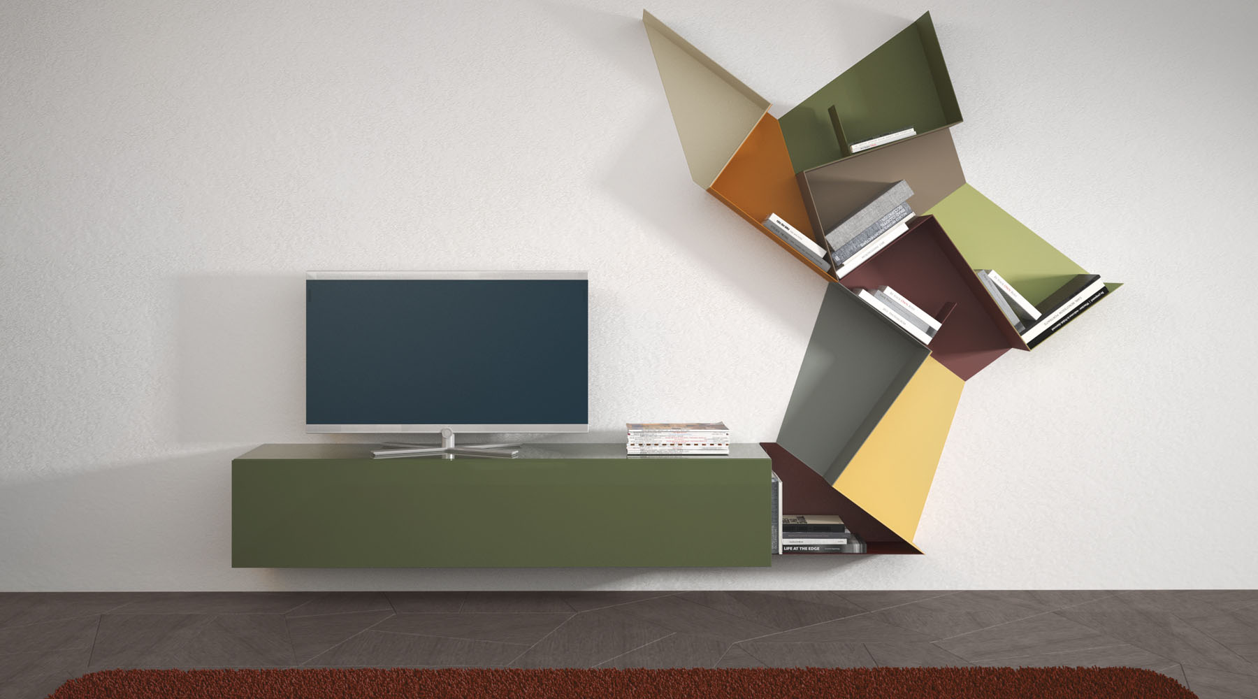 Delfanti Arredamenti | Slide shelf