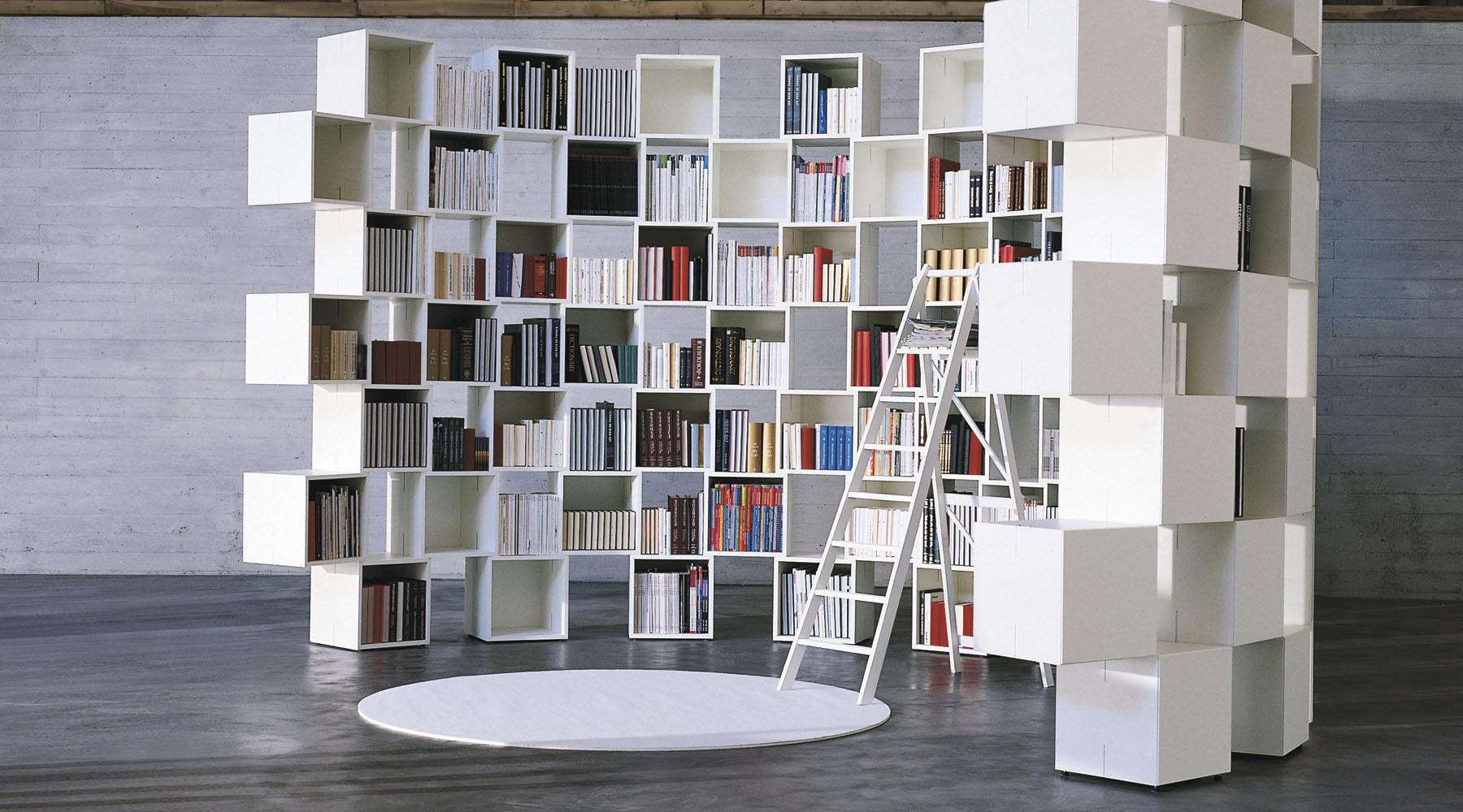 Delfanti arredamenti net storage for Cubi libreria ikea