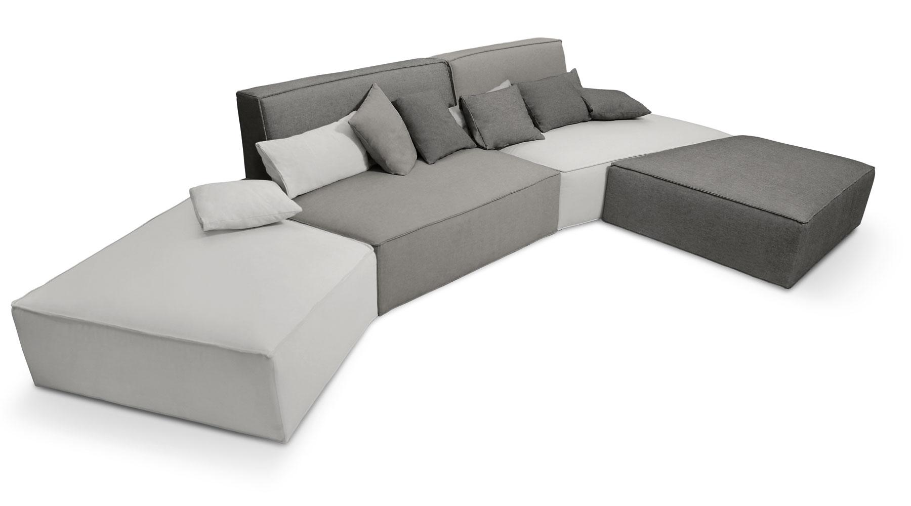 Delfanti arredamenti slide sofa - Divano modulare economico ...