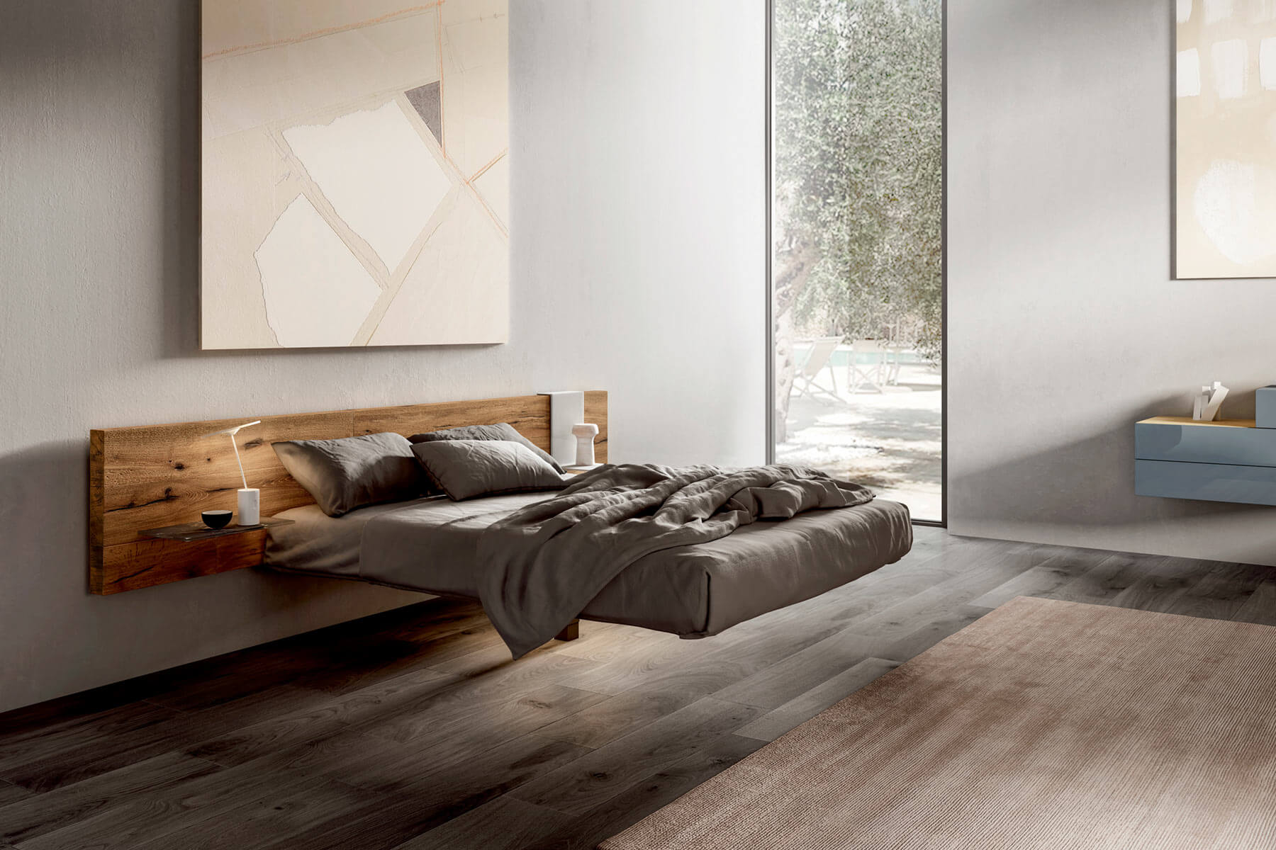 Delfanti arredamenti fluttua bed for Design lago